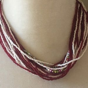 4 for $12: Beaded Necklace
